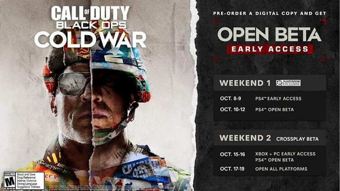 Call of Duty: Black Ops Cold War beta dates