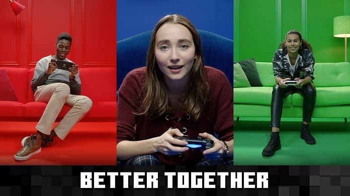 Microsoft, Sony, and Nintendo banded together this generation.