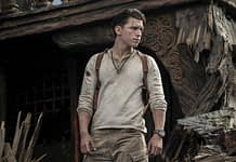 Tom Holland as Nathan Drake in the Uncharted movie