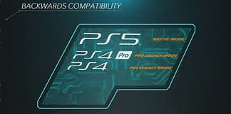 PlayStation 5's backward compatibility graphic