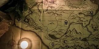 The Elder Scrolls Skyrim Map