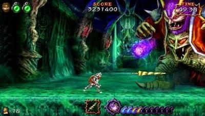 Ultimate Ghosts'N Goblins PSP screenshots