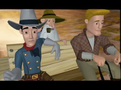Screen Shot for WANTED: A Wild Western Adventure