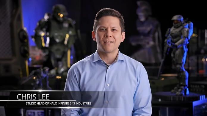 Chris Lee 343 Industries Halo Infinite