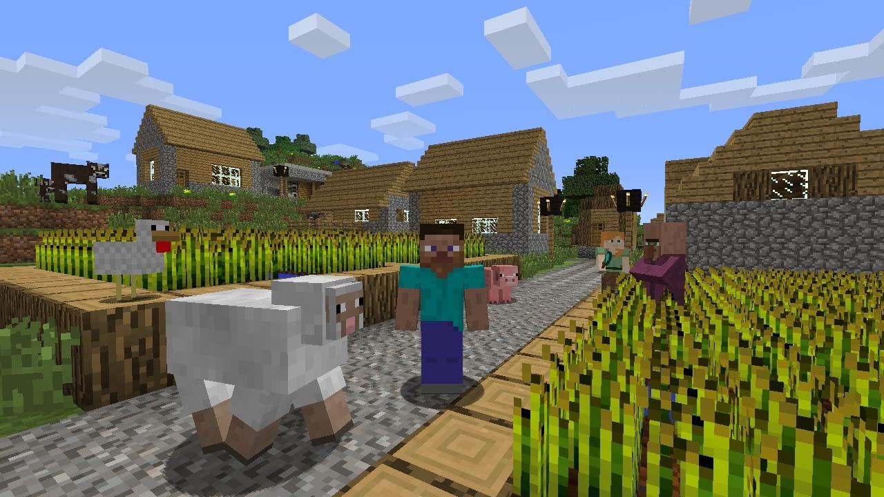 Minecraft Wii U Edition screen 3
