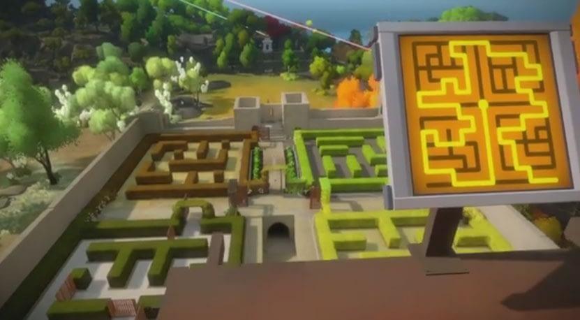 The Witness - The Keep Hedge Maze