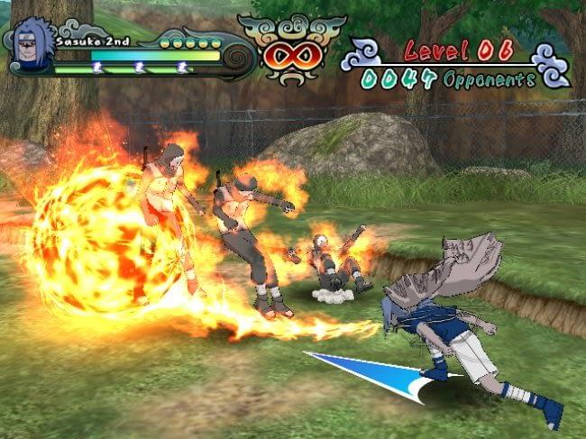 Naruto Clash Of Ninja Revolution 2 Wii Review Gamezone