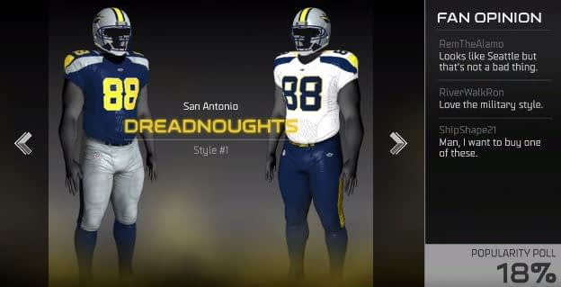 san antonio dreadnoughts