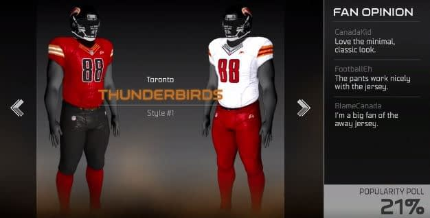 toronto thunderbirds
