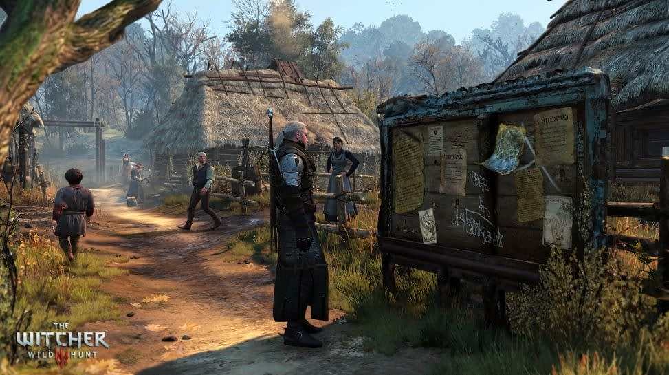 The Witcher 3 Wild Hunt Notice Board
